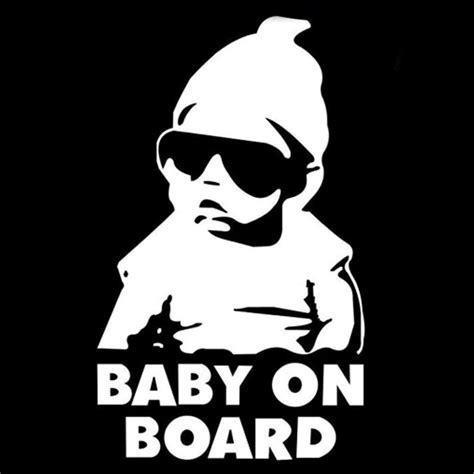 Stiker Cutting Baby On Board baby on board carlos hangover die cut bebe a bordo child in car vinyl decal sticker car