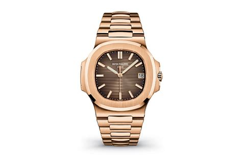 Phillipe New She Is 18 by Patek Philippe Nautilus Brown 18k Gold Automatic