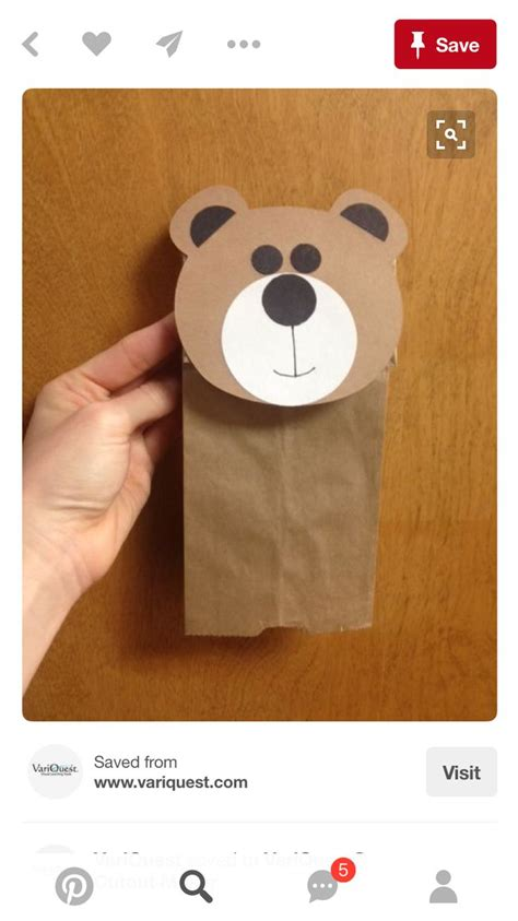 Paper Sack Crafts - 340 best images about paper sack crafts for to make