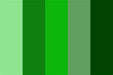 minecraft colors creepers minecraft color palette