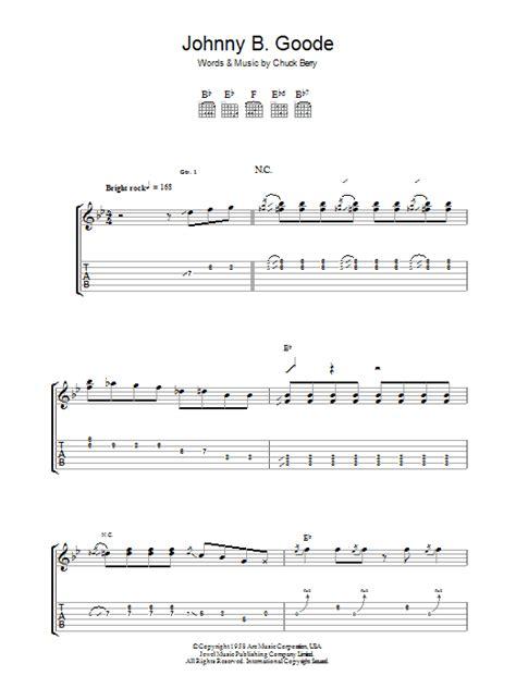 guitar tutorial johnny b goode johnny b goode by chuck berry guitar tab guitar
