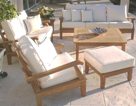 teak deep seating patio furniture decor ideasdecor ideas