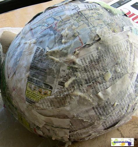 A Paper Mache - how to paper mache make a bunny easter craft