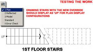 how to show stairs in a floor plan the ups and downs of the adt stair display representation