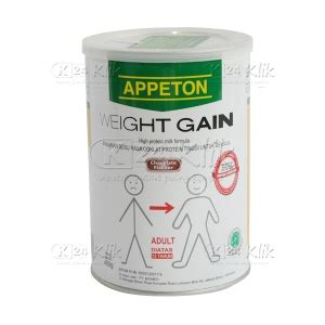 Appeton Weight Gain Di Bali jual beli appeton weight gaint anak 900g coklat k24klik