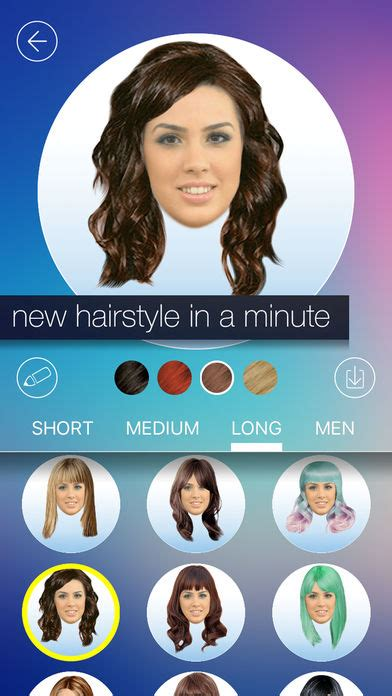 haircuts for me app which hairstyle suits me app hairstyles