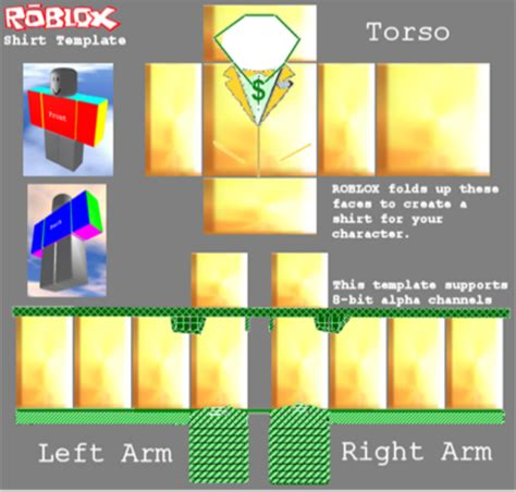 random shirts for roblox characters free templates
