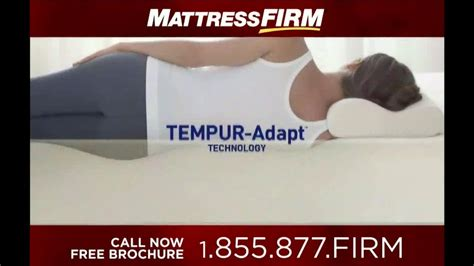 American Mattress Commercial by Mattress Firm Tempur Pedic Tv Commercial Ispot Tv