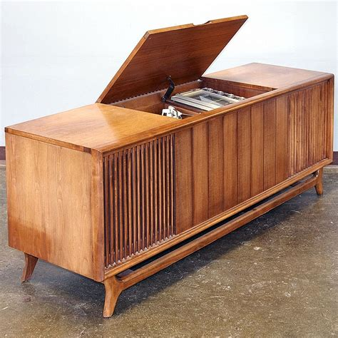 Bell Stereo Speakers vintage console stereo packard bell model rpc 92 with waln