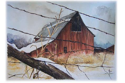 images of barns omg another barn watercolor asmalltowndad s weblog