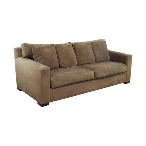crate barrel axis sofa 64 off crate barrel crate barrel axis ii brown two