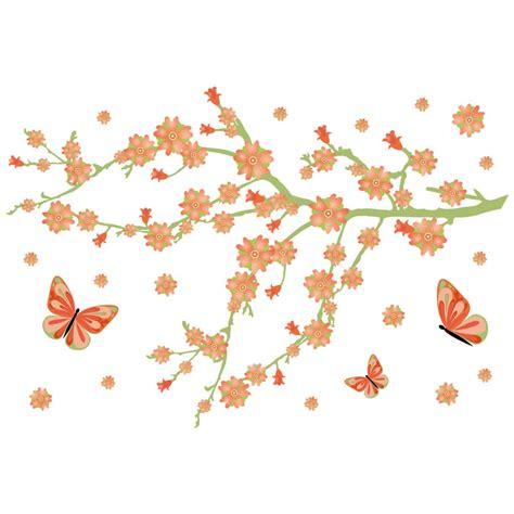 fiori con farfalle fiori di primavera con farfalle