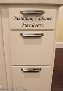 how to install kitchen cabinet hardware tutorial