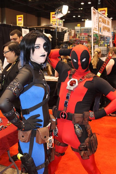 Deadpool 21 Bv domino and deadpool by arielfanatic on deviantart