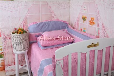 Cheap Crib Bedding Sets With Bumpers Cheap 100 Cotton Baby Crib Bumper Sets Baby Bed Covers Toddler Crib Cot Bedding Set