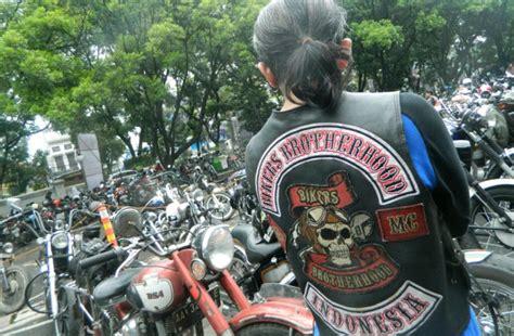 alasan  klub motor pakai logo tengkorak okezone news
