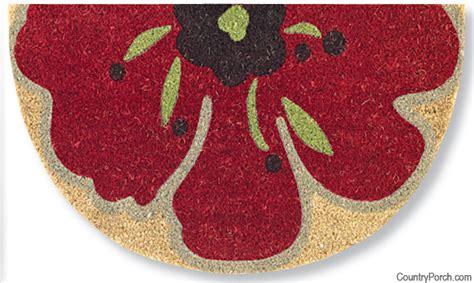 Poppy Doormat poppy doormat