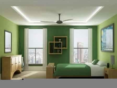 inspirasi  warna hijaudaun