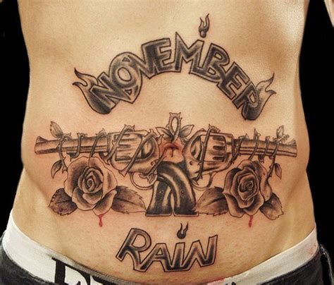 gun and rose tattoo guns and roses tattoos designs ideas and meaning