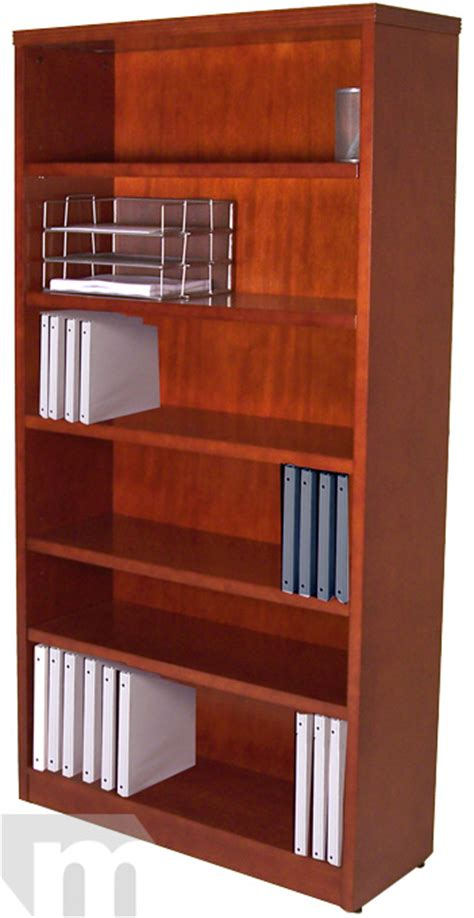 sturdy bookcase for heavy books in stock cherry reception desk for 1599 free shipping