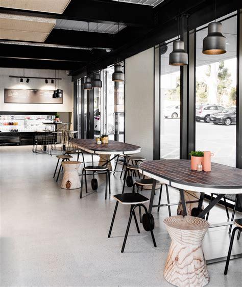 designboom cafe techne architects poacher hound caf 233