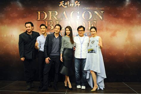 mika wang film dragon blade