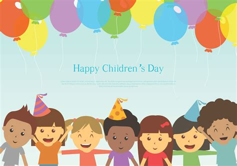 s day free happy children s day free vector