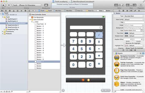 Calculator Xcode | basic steps xcode basic calculator project