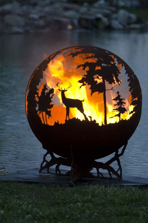 todesstern feuerstelle the pit gallery pit spheres for sale firebowl