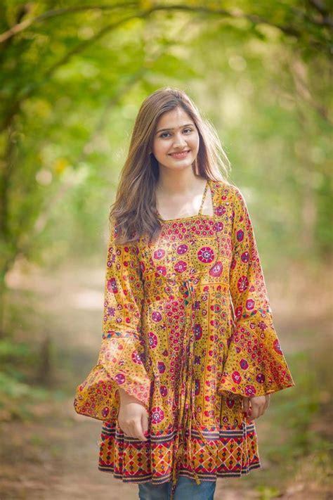 latest elegant winter pakistani girls frock designs