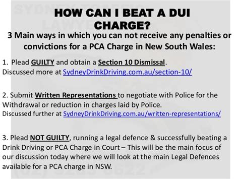 section 10 dismissal drink driving how to beat a dui charge in nsw drink driving lawyer sydney