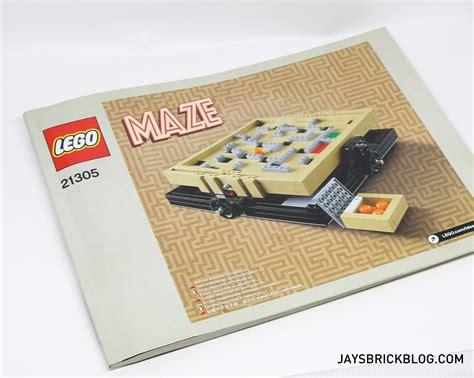 Lego 21305 Maze Cuuso Lego Ideas review lego 21305 ideas maze