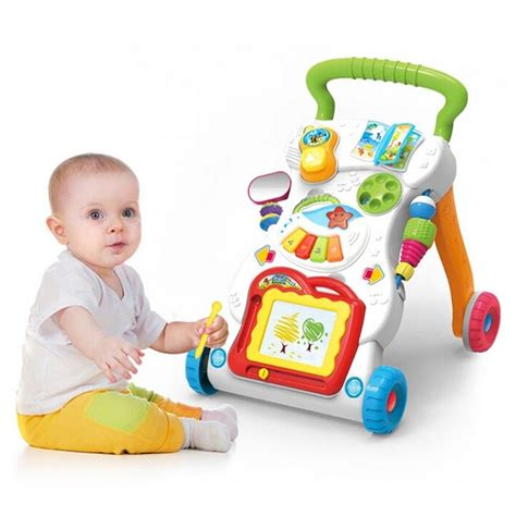 Win Grow With Me Musical Walker multifunction grow with me musical walker trolley toys mch019