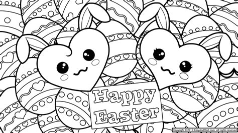 5 easter eggs coloring pages printable for kids
