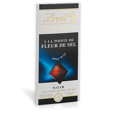 Lindt Excellence Seasalt 100g excellence sea salt products lindt chocolate world