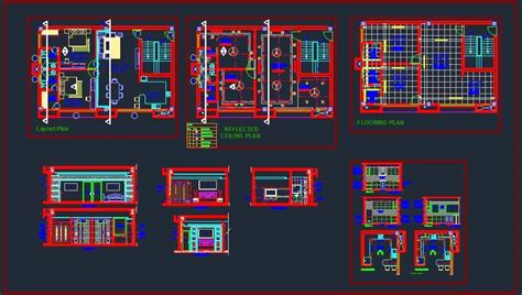 1 Bedroom Apartment Layout 2 bhk apartment interior design and kitchen detail plan
