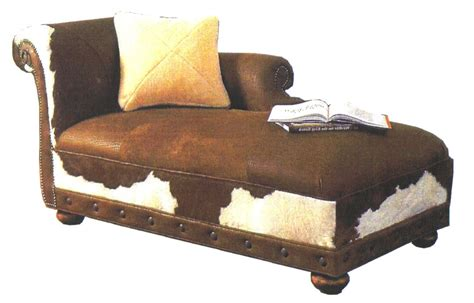 western chaise lounge cowhide chaise lounges hair on hide chaise we beat free