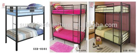 single bunk beds for sale trade assurance cheap single size metal bunk beds for