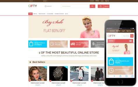 bootstrap templates for online shopping gifty a flat ecommerce bootstrap responsive web template