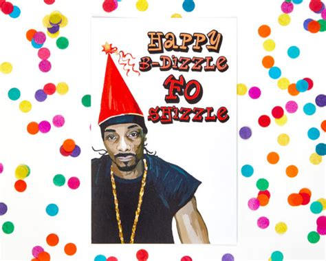 snoop dogg birthday card notorious b i g rapper card