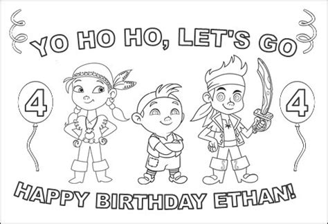 printable coloring pages jake and the neverland pirates jake and the neverland pirates party games invitations