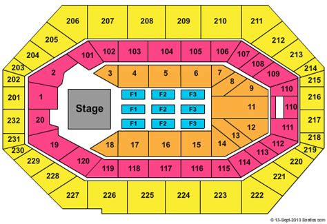 bankers fieldhouse seating chart with rows bankers fieldhouse tickets schedule