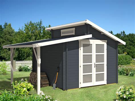 Gartenlaube Metall gartenhaus aktiva 28 mit schleppdach gartenhaus aktiva 28