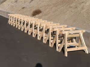 Sawbuck Table Woodworking Sawhorse Plans