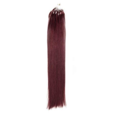 1g hair extensions micro loop hair extensions 99j