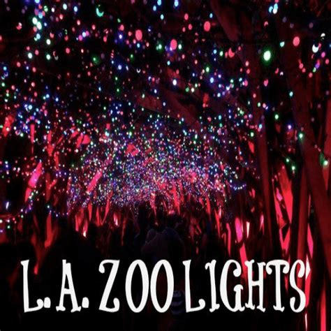 zoo lights discount la zoo lights discount offer socal field trips