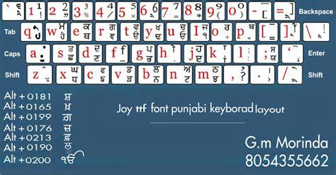 keyboard layout of joy font gm jinder google