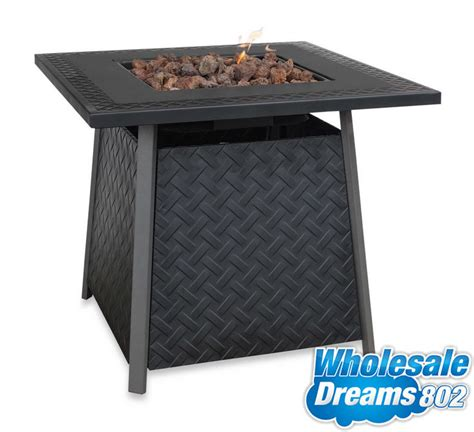 deck pit table pit table gas propane fireplace outdoor patio deck