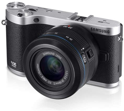 Samsung Smart Nx300 Samsung Nx300 20 3mp Cmos Smart Wifi Mirrorless Digital With 20 50mm Lens