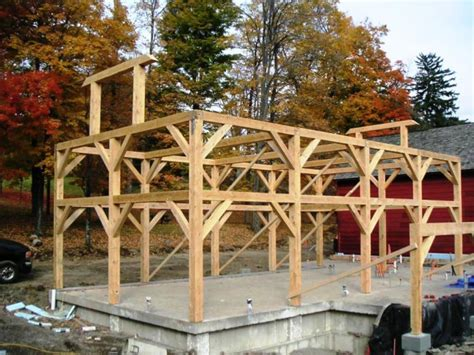 historic timber barn vermont timber works